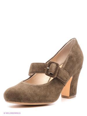 Туфли EVITA. Цвет: коричневый