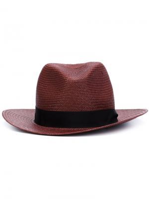 Ковбойская шляпа Rag & Bone. Цвет: красный