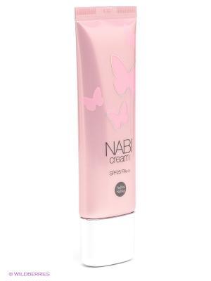Крем Наби для комбинированной кожи SPF 25 Holika. Цвет: розовый