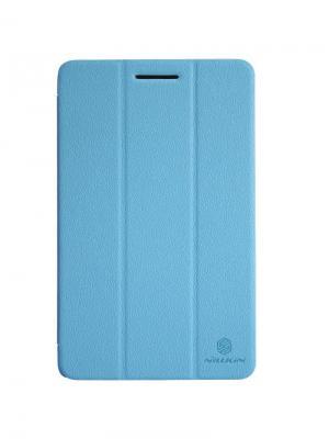 Чехол Nillkin Fresh Series Leather Case для Lenovo S5000. Цвет: синий