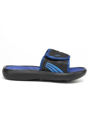 Шлепанцы MURSU. Цвет: черный, синий