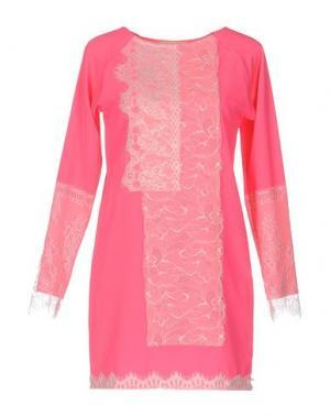 Короткое платье LOYD/FORD. Цвет: фуксия