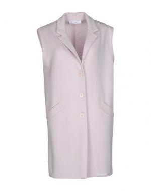 Легкое пальто AMINA RUBINACCI. Цвет: розовый