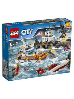 City Coast Guard Штаб береговой охраны 60167 LEGO. Цвет: синий