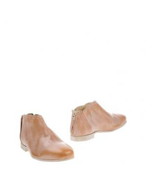Ботинки FABBRICA MORICHETTI. Цвет: песочный