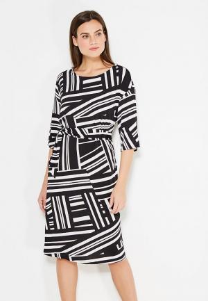 Платье Dorothy Perkins Curve. Цвет: черно-белый