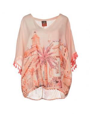 Блузка AU SOLEIL DE SAINT TROPEZ. Цвет: светло-розовый