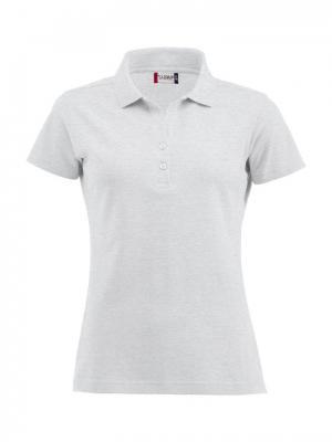 Clique Alba женская футболка-поло. Цвет: светло-серый