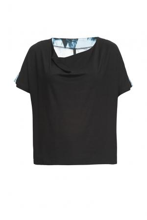 Трикотажная блуза 162785 Firkant. Цвет: разноцветный
