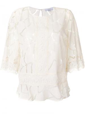 Блузка Esperia Iro. Цвет: телесный