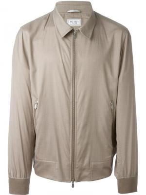 Куртка на молнии Brunello Cucinelli. Цвет: телесный