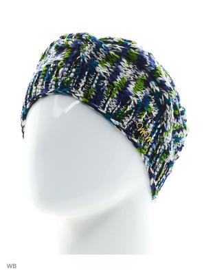 Шапка Юлия ТТ. Цвет: синий, белый, зеленый