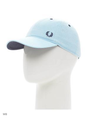 Бейсболка Fred Perry. Цвет: голубой