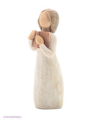 Фигурка Willow Tree (Любовь к учебе, 13,5 см). Цвет: белый