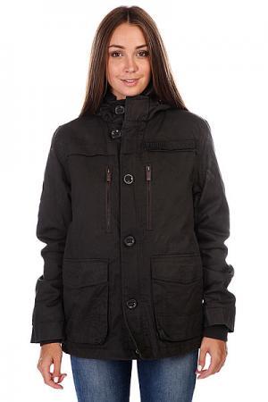 Куртка женская  Zy Puffer Parka Black Zoo York. Цвет: серый