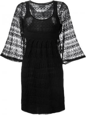 Ажурное платье Agate Isabel Marant. Цвет: чёрный