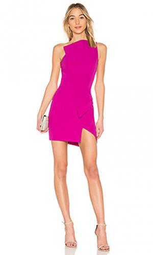 Платье molly AQ/AQ. Цвет: розовый