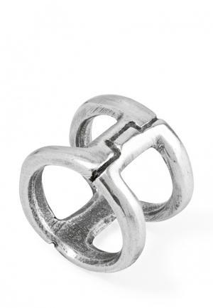 Кольцо UNO de 50. Цвет: серебряный