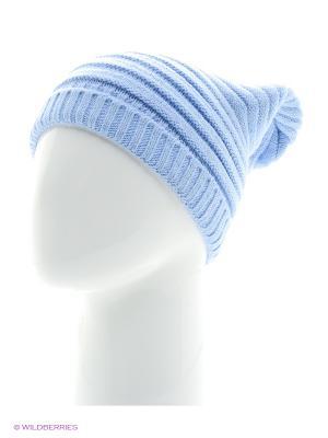 Голубая шапка Непростые вещи. Цвет: голубой