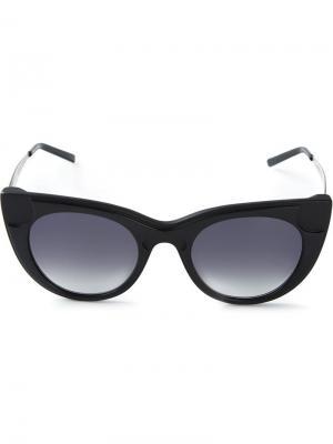 Солнцезащитные очки Sabry Kyme. Цвет: чёрный