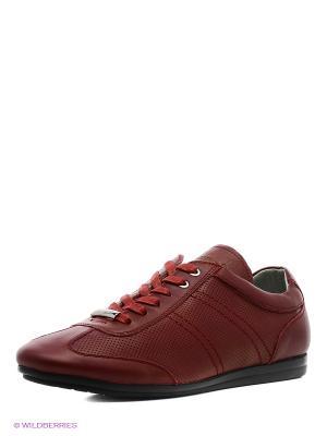 Кроссовки Ascot. Цвет: бордовый