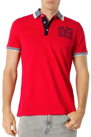 POLO JIMMY SANDERS. Цвет: red