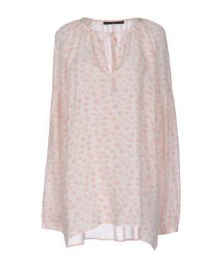 Блузка SLY010. Цвет: светло-розовый