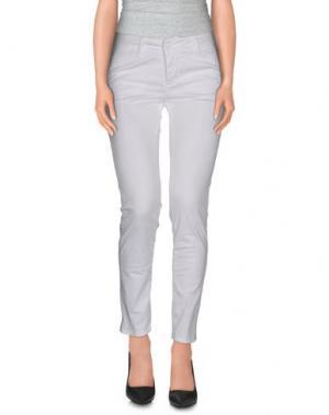 Повседневные брюки KATE. Цвет: белый