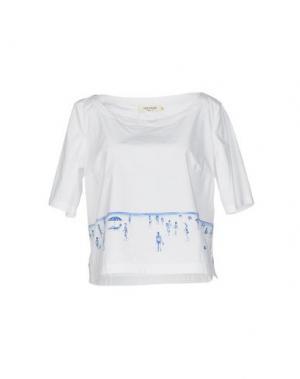 Блузка NICE THINGS by PALOMA S.. Цвет: белый