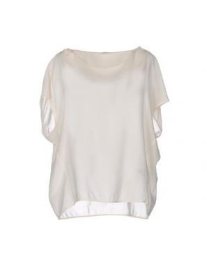 Блузка GUGLIELMINOTTI. Цвет: бежевый