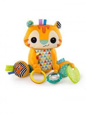 Развивающая игрушка Море удовольствия, Тигрёнок BRIGHT STARTS. Цвет: оранжевый