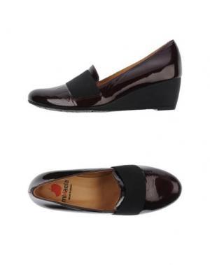 Туфли MIKAELA. Цвет: красно-коричневый