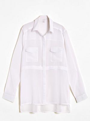 Блузка Jennyfer. Цвет: белый