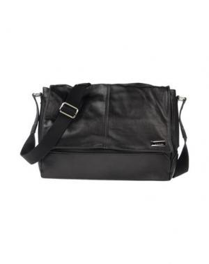 Деловые сумки GIULIANO FUJIWARA. Цвет: черный