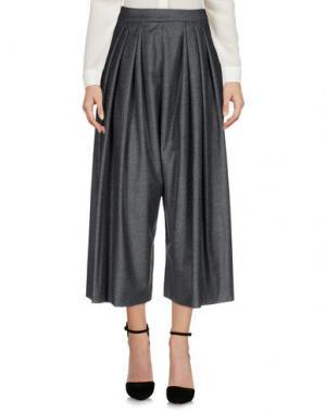 Повседневные брюки MAISON RABIH KAYROUZ. Цвет: серый