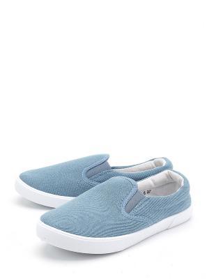 Кеды TF. Цвет: голубой