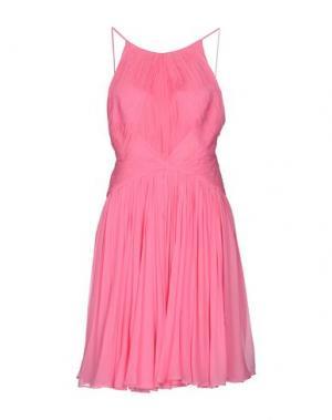 Короткое платье MARIA LUCIA HOHAN. Цвет: фуксия