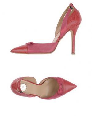Туфли ELISABETTA FRANCHI. Цвет: фуксия