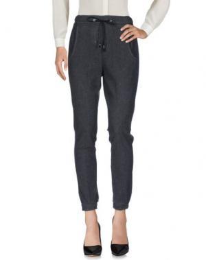 Повседневные брюки J-CUBE. Цвет: серый