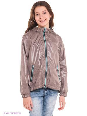 Куртка Bell bimbo. Цвет: серо-коричневый