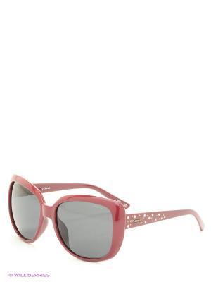 Солнцезащитные очки Polaroid. Цвет: бордовый, синий