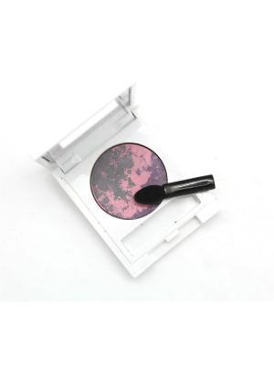 Тени для век  Вулкан, тон 01 POETEA. Цвет: сиреневый, розовый, серый