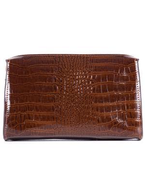 Косметичка VERSADO. Цвет: коричневый, бронзовый