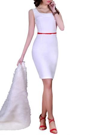Платье FRANCESCA LUCINI. Цвет: белый