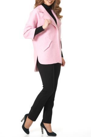 Пальто Argent. Цвет: розовый