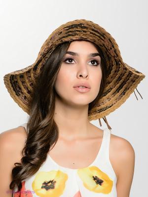 Шляпа FOMAS. Цвет: коричневый