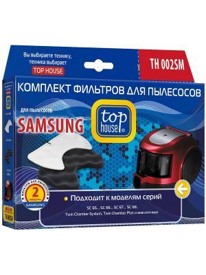 Top house TH 002SM Комплект фильтров для пылесосов SAMSUNG, 2 шт.. Цвет: синий