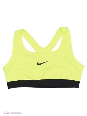 Топ G NP BRA CLASSIC Nike. Цвет: желтый