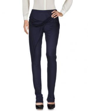 Повседневные брюки ANNE VALERIE HASH. Цвет: темно-синий