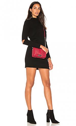 Платье свитер lynx 360CASHMERE. Цвет: черный